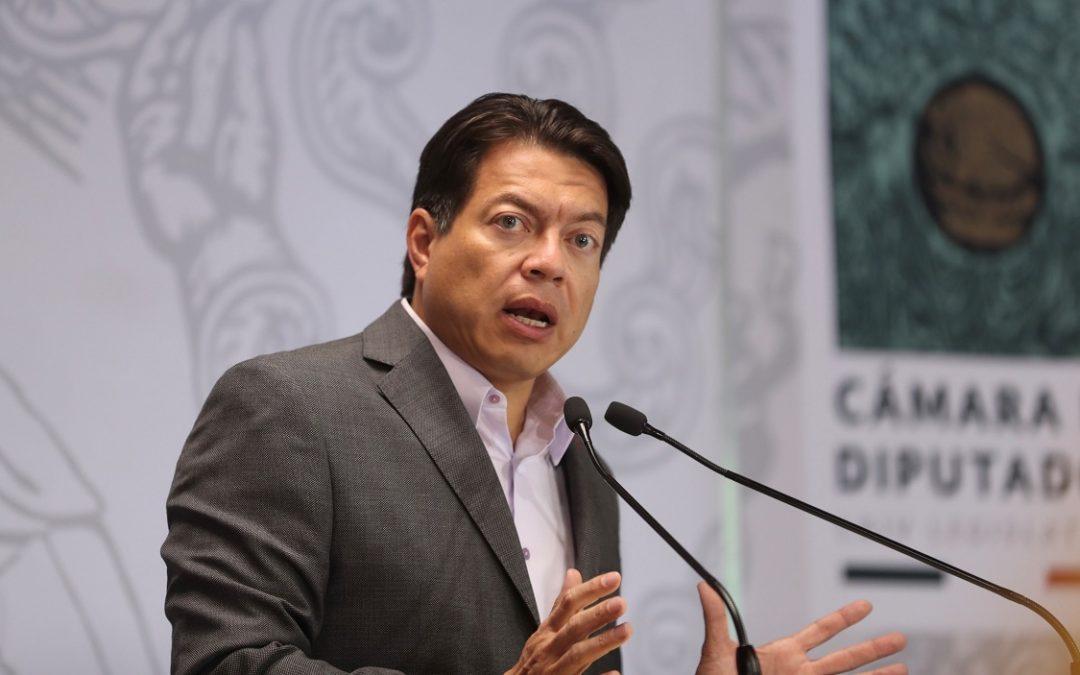 AL INE NO LLEGARÁN CONSEJEROS CON INTERESES PARTIDISTAS: MARIO DELGADO