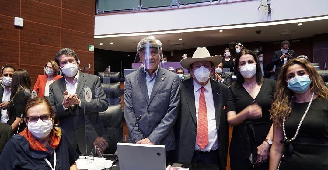 ENTRADA EN VIGOR DEL T-MEC FUE POR LA UNIDAD EN EL SENADO: MONREAL