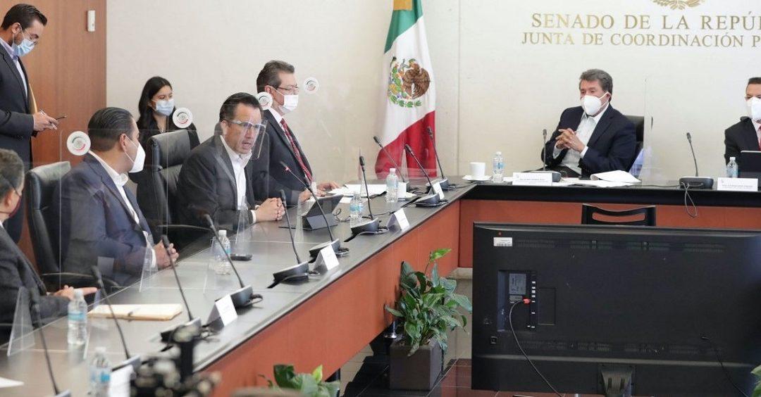 MONREAL DESTACA CONSTRUCCIÓN DE REFORMA AL SISTEMA DE JUSTICIA CON GOBERNADORES