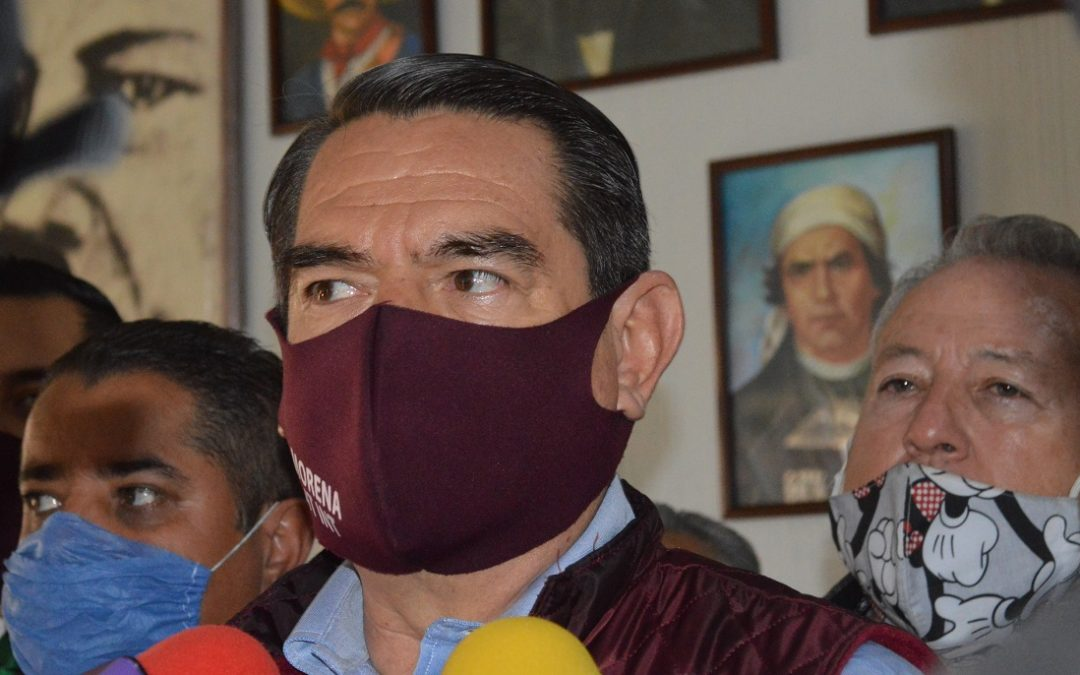 TRIFE TIENE ÚLTIMA PALABRA PARA DEJAR PRESIDENCIA DE MORENA: HUGO RODRÍGUEZ