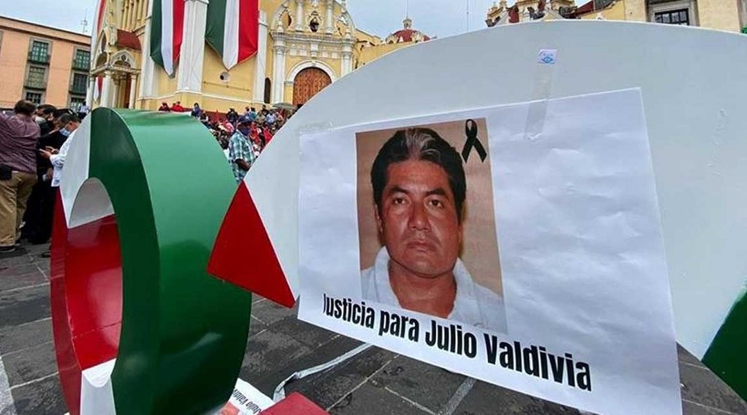 EXIGE PRD ESCLARECER HOMICIDIO DEL PERIODISTA JULIO VALDIVIA