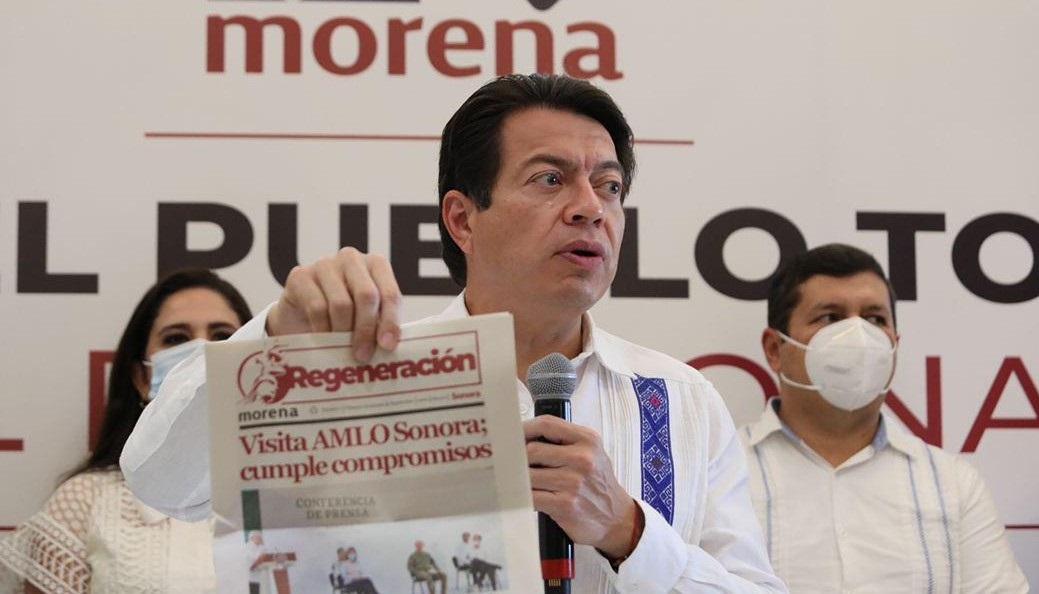 MARIO DELGADO LLAMÓ A DEFENDER A AMLO ANTE EMBATES DE CONSERVADORES