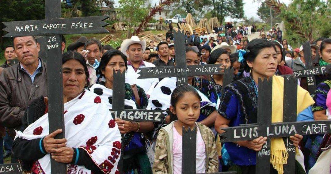 MATANZA DE ACTEAL, CRIMEN DE LESA HUMANIDAD, EXIGEN ENJUICIAR A ZEDILLO