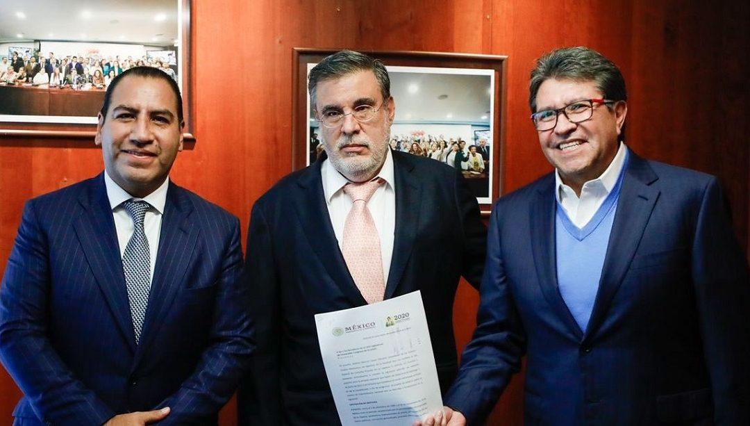 RECIBE SENADO SOLICITUD DE CONSULTA PARA ENJUICIAR A EX PRESIDENTES