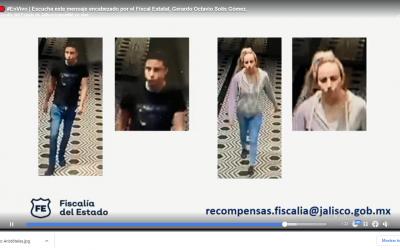 CASO ARISTÓTELES: FISCALÍA OFRECE 1 MDP POR INFORMACIÓN DE DOS IMPLICADOS