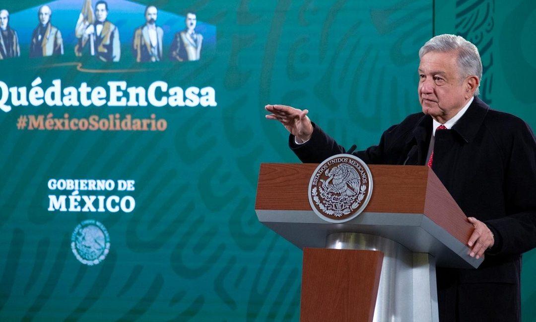 AMLO LLAMA A LA ONU A REUNIÓN URGENTE POR ACAPARAMIENTO DE VACUNAS