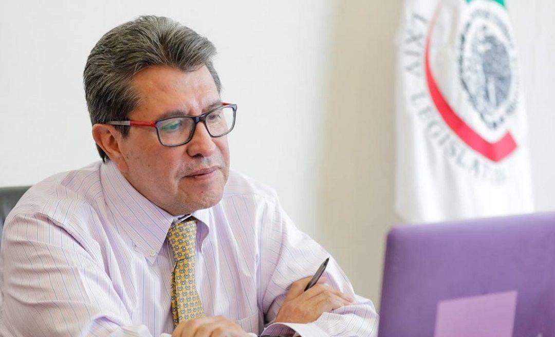 ADVIERTE MONREAL AUMENTO DE GUERRA SUCIA Y POLARIZACIÓN CONTRA LA 4T