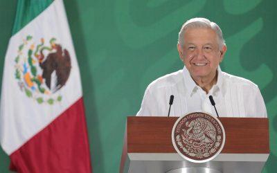 ENVÍO DE VACUNAS DE EU MUESTRA DE COOPERACIÓN CON MÉXICO: AMLO