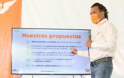 PRESENTA PABLO LEMUS EJE DE PROPUESTAS GUADALAJARA BIEN CHULA