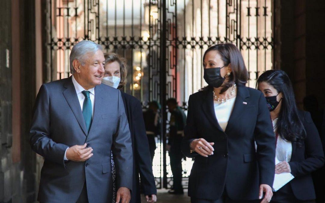 AMLO Y KAMALA FIRMA MEMORÁNDUM DE COOPERACIÓN PARA EL DESARROLLO