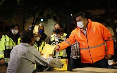 SUPERVISA GDL BRIGADAS PARA ATENDER A PERSONAS EN SITUACIÓN DE CALLE