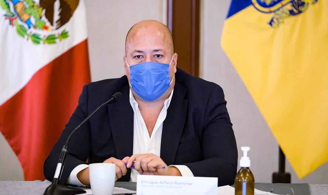 JALISCO INCREMENTA 62% CASOS DE COVID-19: ENRIQUE ALFARO