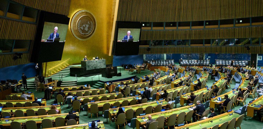 EN 76 ASAMBLEA GENERAL DE LA ONU, BUSCAN CÓMO REVERTIR EL CAMBIO CLIMÁTICO