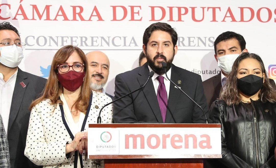 DIPUTADOS DE MORENA DEFIENDEN TRIUNFO DE GONZALO ÁLVAREZ EN ZAPOTLANEJO