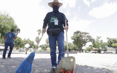 REALIZAN GUADALAJARA LIMPIA EN LA ZONA DEL MERCADO DE ABASTOS
