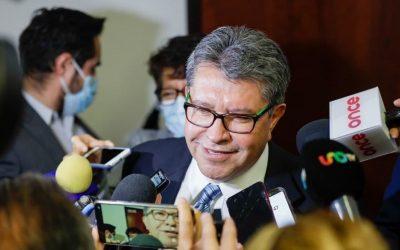 NO CONTRADIGO AL PRESIDENTE, PERO HAY REVISAR VIDA DEMOCRÁTICA DE MORENA: MONREAL